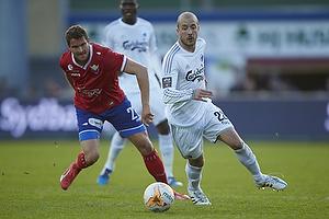 Jan Kristiansen (FC Vestsj�lland), Steve De Ridder (FC K�benhavn)