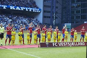 Henrik Madsen, anf�rer (FC Vestsj�lland), Thomas Mikkelsen (FC Vestsj�lland), Anders �stli (FC Vestsj�lland), Eggert Gunnthor (FC Vestsj�lland), Peter Nymann (FC Vestsj�lland), Apostolos Vellios (FC Vestsj�lland), Rasmus Festersen (FC Vestsj�lland), Marc Dal Hende (FC Vestsj�lland), Anders Kure (FC Vestsj�lland), Jukka Raitala (FC Vestsj�lland), Michael Lumb (FC Vestsj�lland)