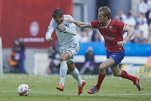 Rurik Gislason (FC K�benhavn), Peter Nymann (FC Vestsj�lland)