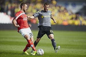 Thorbj�rn Holst Rasmussen (Silkeborg IF), Ferhan Hasani (Br�ndby IF)