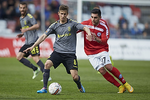 Alexander Szymanowski (Br�ndby IF), Frans Dhia Putros (Silkeborg IF)