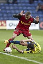 Elba Rashani (Br�ndby IF), Mario Ticinovic (FC Nordsj�lland)