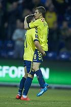 Alexander Szymanowski (Br�ndby IF), Andrew Hjulsager (Br�ndby IF)