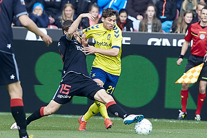 Jesper Lauridsen (FC Midtjylland), Andrew Hjulsager (Br�ndby IF)