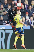 Sylvester Igboun (FC Midtjylland), Andrew Hjulsager (Br�ndby IF)