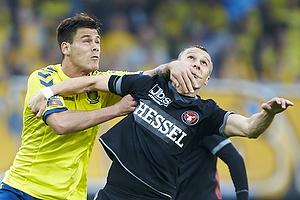 Dario Dumic (Br�ndby IF), Martin Pusic (FC Midtjylland)