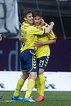 Alexander Szymanowski, m�lscorer (Br�ndby IF), Andrew Hjulsager (Br�ndby IF)