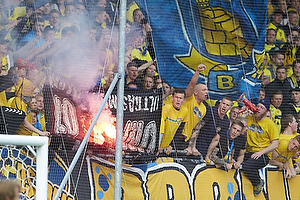 Br�ndbyfans afbr�nder FCM-banner