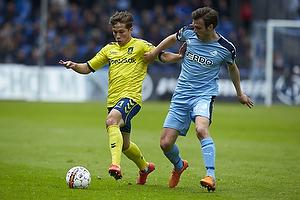Andrew Hjulsager (Br�ndby IF), Elmar Bjarnason (Randers FC)