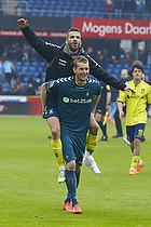 Ferhan Hasani (Br�ndby IF), Lukas Hradecky (Br�ndby IF)