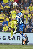 Patrick Da Silva (Br�ndby IF), Ryan Johnson Laursen (Esbjerg fB)