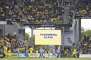 22.838 tilskuere p� Br�ndby Stadion