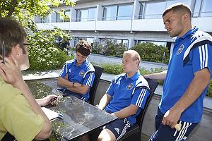 Pressem�det med U-21 landsholdet