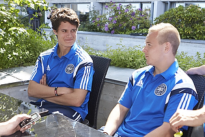Christian N�rgaard (Danmark), Uffe Bech (Danmark), Riza Durmisi (Danmark)