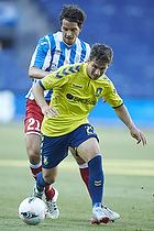 Andrew Hjulsager (Br�ndby IF), Lorenzo Gasperoni (AC Juvenes-Dogana)
