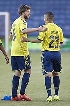 Martin �rnskov (Br�ndby IF), Patrick Da Silva (Br�ndby IF)