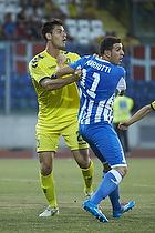 Dario Dumic (Br�ndby IF), Giorgio Mariotti (AC Juvenes-Dogana)