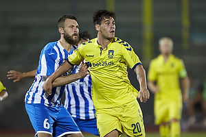 Dario Dumic (Br�ndby IF), Daniele Villa (AC Juvenes-Dogana)