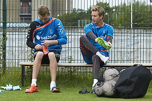 Lukas Hradecky (Br�ndby IF), Frederik R�nnow (Br�ndby IF)