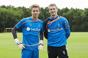 Frederik R�nnow (Br�ndby IF), Lukas Hradecky (Br�ndby IF)
