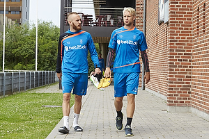 Magnus Eriksson (Br�ndby IF), Johan Larsson (Br�ndby IF)