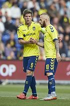 Martin �rnskov, anf�rer (Br�ndby IF), Magnus Eriksson (Br�ndby IF)