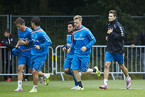Andrew Hjulsager (Br�ndby IF), Patrick Da Silva (Br�ndby IF), Ronnie Schwartz (Br�ndby IF), Elba Rashani (Br�ndby IF)