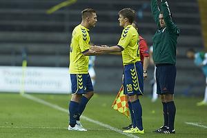 Martin Albrechtsen (Br�ndby IF), Malthe Johansen (Br�ndby IF)
