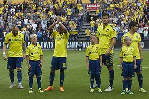 Magnus Eriksson (Br�ndby IF), Lebogang Phiri (Br�ndby IF), Dario Dumic (Br�ndby IF), Patrick Da Silva (Br�ndby IF)