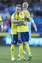 Ronnie Schwartz, m�lscorer (Br�ndby IF), Johan Larsson (Br�ndby IF)