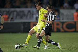 Dario Dumic (Br�ndby IF), Giannis Mystakidis (Paok FC)