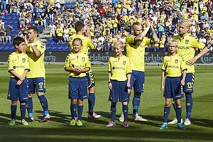 Riza Durmisi (Br�ndby IF), Elba Rashani (Br�ndby IF), Magnus Eriksson (Br�ndby IF), Johan Larsson (Br�ndby IF)