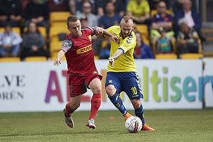 Stanislav Lobotka (FC Nordsj�lland), Magnus Eriksson (Br�ndby IF)