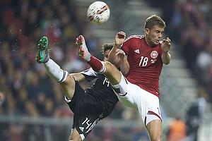 Xhaka Taulant (Albanien), Jakob Poulsen (Danmark)