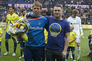 Jesper Lindorff Juelsg�rd (Br�ndby IF), Lasse Hjorth, formand (Br�ndby Support)