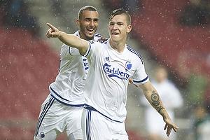 Benjamin Verbic, m�lscorer (FC K�benhavn), Youssef Toutouh (FC K�benhavn)