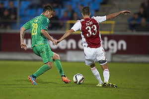 Dario Dumic (Br�ndby IF), Lukas Spalvis (Aab)