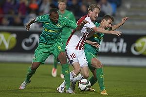Rodolph William Austin (Br�ndby IF), Rasmus Jonsson (Aab), Elba Rashani (Br�ndby IF)