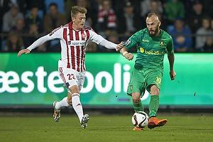 Nicolaj Thomsen (Aab), Magnus Eriksson (Br�ndby IF)