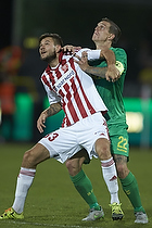 Lukas Spalvis (Aab), Daniel Agger (Br�ndby IF)