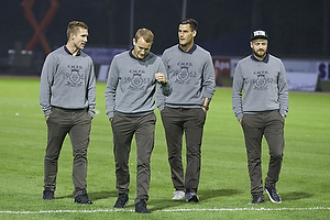 Martin Albrechtsen (Br�ndby IF), Thomas Kahlenberg (Br�ndby IF), Dario Dumic (Br�ndby IF), Ronnie Schwartz (Br�ndby IF)
