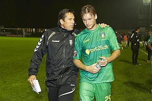 Mark Strudal, angrebstr�ner, assistenttr�ner (Br�ndby IF), Christian Greko Jakobsen (Br�ndby IF)