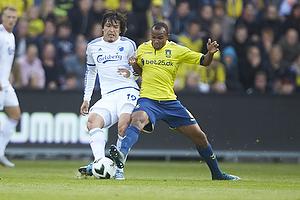 Federico Santander (FC K�benhavn), Rodolph William Austin (Br�ndby IF)