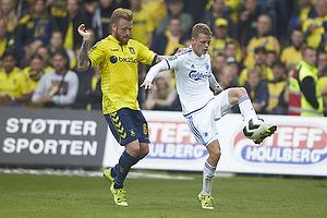 Ronnie Schwartz (Br�ndby IF), Kasper Kusk (FC K�benhavn)