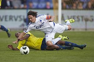 Rodolph William Austin (Br�ndby IF), Thomas Delaney, anf�rer (FC K�benhavn)