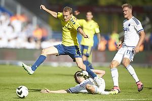 Thomas Kahlenberg (Br�ndby IF), Thomas Delaney (FC K�benhavn)