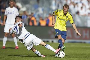 Benjamin Verbic (FC K�benhavn), Thomas Kahlenberg (Br�ndby IF)