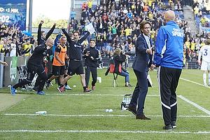 Thomas Frank, cheftr�ner (Br�ndby IF), St�le Solbakken, cheftr�ner (FC K�benhavn)