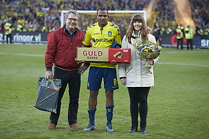 Man of the match Rodolph William Austin (Br�ndby IF)