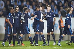 Casemiro (Real Madrid CF), Cristiano Ronaldo, m�lscorer (Real Madrid CF)